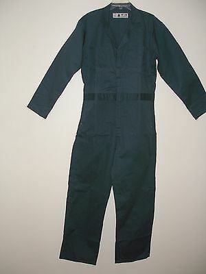 $28.99 • Buy Mens 100% Cotton Coveralls Size 36r Spruce Green