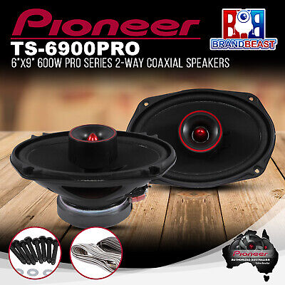 AU274.55 • Buy Pioneer TS-6900PRO 6x9  600W PRO Series 2 Way Coaxial Speaker