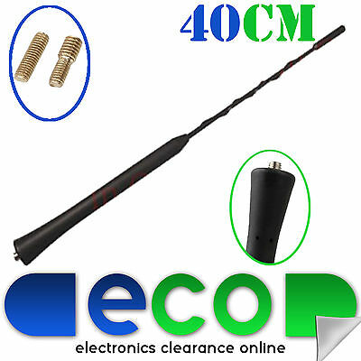 £5.95 • Buy 40cm Rover 25 45 75 MG ZR ZS 200 Roof Mount Replacement Car Aerial Antenna Black