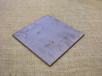 £9.50 • Buy Black Steel Square Plate 200mm X 200mm X 6mm  Fixing-Mounting  - Mild Steel