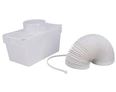 £8.20 • Buy White Knight Universal Tumble Dryer Indoor Condenser Vent Kit Box With Hose