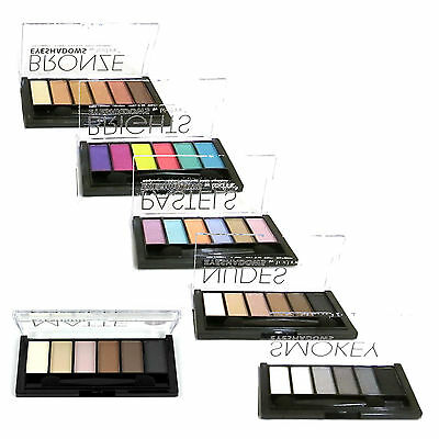 £2.75 • Buy Technic Eyeshadow Palette - 6 Shade Colour Kit - Including Matte