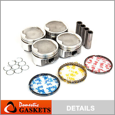 AU1131.38 • Buy 98-01 Toyota Camry Solara 2.2L DOHC Pistons And Rings Set 5SFE