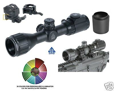 $109.97 • Buy Compact Rifle Scope UTG Leapers 3-9X32 Bug Buster W/Picatinny Rings 2  Sunshade