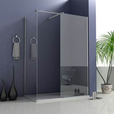 £102.34 • Buy Aica Walk In Shower Enclosure And Tray Wet Room Easy Clean Screen Panel Cubicle
