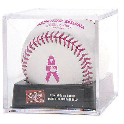 View Details Official Rawlings MLB Baseball Game NIB Major League Mothers Day Pink In Cube • 49.99$ CDN