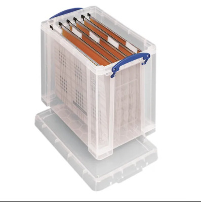'REALLY USEFUL STORAGE BOX' 19 LITRE - NEW (HOLDS 5 REAMS A4 PAPER) + 24h DEL • 11.89£