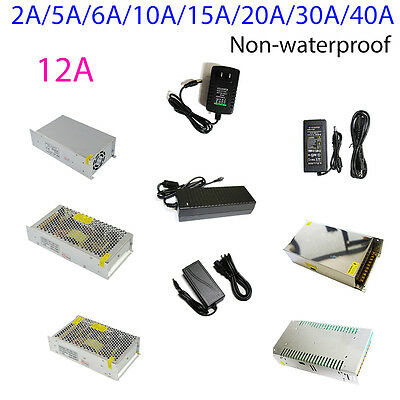 $6.85 • Buy AC DC Power Supply Adapter Transformer 12V 2A 6A 10A 15A 30A For 5050 LED Strip
