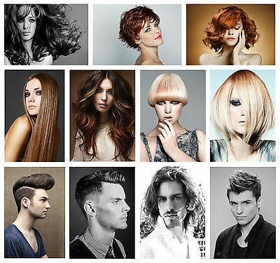 £3.99 • Buy Hairdresser Barber Hair Salon Hairstyle Giant Poster Selectable Laminate Option