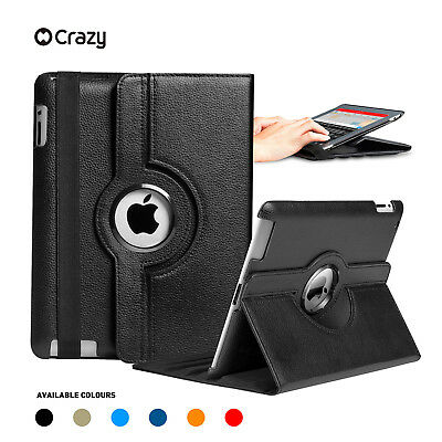 AU14.95 • Buy Leather Smart Case Rotating Cover For IPad 6 5 4 3 2 Mini Air 1 Pro 9.7 10.5