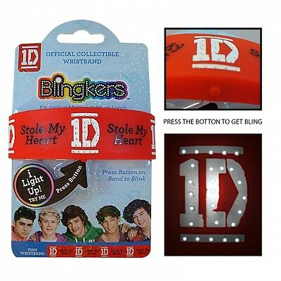£5.12 • Buy One Direction 'Blingkers' Wristband Unisex Accessories Brand New Gift