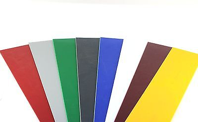 £3.96 • Buy Coloured Plastic Sheet Plate HIPS Guillotine Cut Arts & Crafts DIY White Black