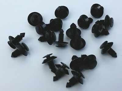 $10.49 • Buy 20 Interior Door Trim Plastic Panel Retainers Clips Fits Ford Automobile NOS 575