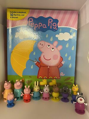 £11.99 • Buy Peppa Pig Cake Toppers 10 Plastic Figures Uk Stock Brand New Free P+p