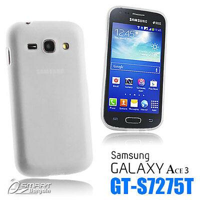 £2.70 • Buy Clear Matte Gel Case For Samsung Galaxy ACE 3 S7275 T + SG TPU Jelly Soft Cover