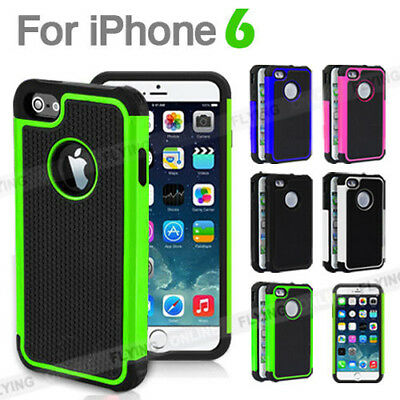 AU5.50 • Buy For Apple IPhone 6 Shockproof Case Cover Hard Tough Armor Heavy Duty Durable NEW