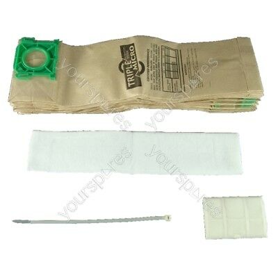 Sebo Automatic X4 Extra Service Kit 10 X Vacuum Bags And Filter Kit • 9.99£