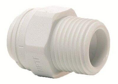 Screw Push Fit Filter Housing Connector 1/4  X 1/4  For Use With Water Pipe New • 2.49£