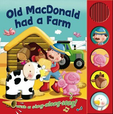 Old Macdonald (Sound Boards) By Igloo Books Ltd Board Book Book The Cheap Fast • 4.49£