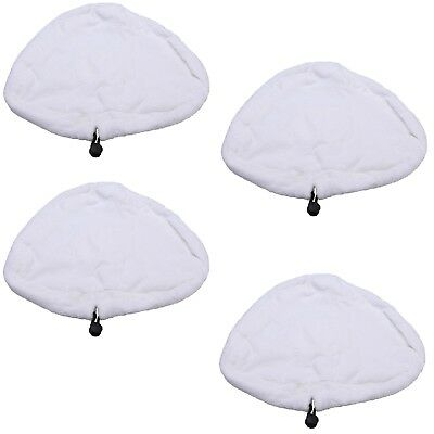 Steam Mop Hard Floor Microfibre Cleaning Pads Covers For Vax S2 Pack Of 4 • 6.15£