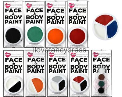 £3.99 • Buy Face Paint Cosmetic Stage Body Theatre Makeup Water Based Facepaint Fancy Dress