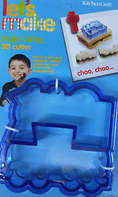 £4.99 • Buy Kitchencraft Train Shape Kids Lunch Sandwich Cutter. Great For Thomas Parties!