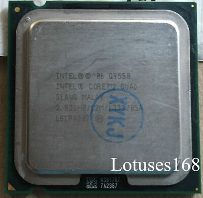 $ CDN32.61 • Buy Intel Core 2 Quad Q9550 2.83 GHz 12M 1333 Quad-Core Processor LGA775 CPU