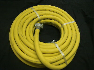 AU264 • Buy Continental Made In USA 3/4 (19mm) X 20M X 250PSI Air/Water Hose W/ Type A Claws