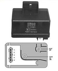 Glow Plug Relay For Peugeot 306 405 406 605 806 Boxer Expert 1.9 TD 2.1 TD • 39.99£