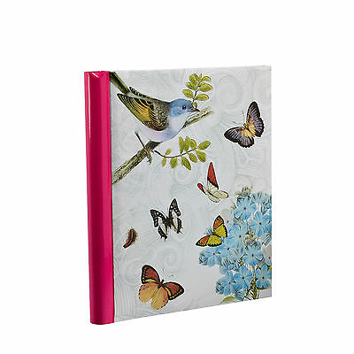 Large Self Adhesive Vintage Butterfly Photo Album 40 Sides For Ideal Gift -BB40 • 8.49£