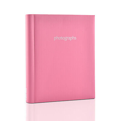 Pink Large Self Adhesive 20 Sheets 40 Sides Photo Albums For Ideal Gift- SM40PK • 8.49£