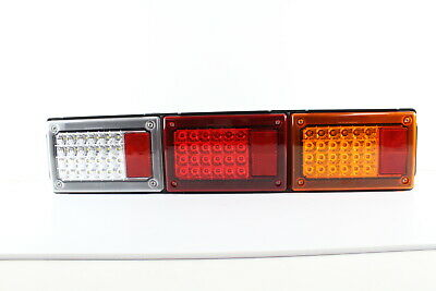 AU228 • Buy TRUCK BUS TRAILER LED TRIPLE JUMBO COMBINATION TAIL LAMP FOR CARAVAN JAYCO X1