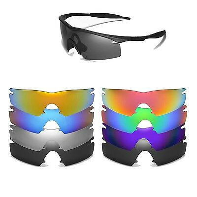 85d77cc0d9 Walleva Replacement Lenses For Oakley M Frame Strike Sunglasses-Multiple  Options • 17.99