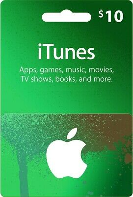 AU16.88 • Buy $10 Apple US ITunes Card Gift Card 10 Dollar Voucher Certificate -FAST DISPATCH