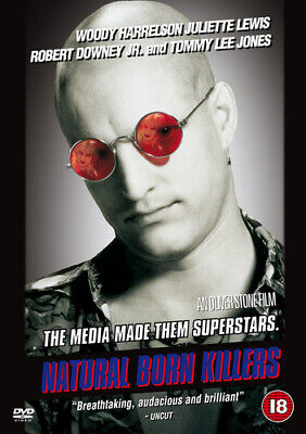 Natural Born Killers DVD (2001) Woody Harrelson, Stone (DIR) Cert 18 Great Value • 1.98£
