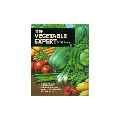 The Vegetable Expert (Expert Books) By Hessayon, Dr D G Paperback Book The Cheap • 3.99£