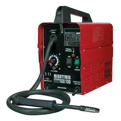 Sealey Professional No Gas/Gassless MIG Welder Repairer 100Amp 230V MIGHTYMIG100 • 135.48£