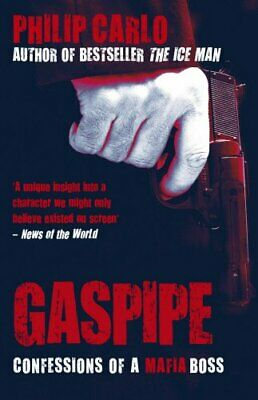 Gaspipe: Confessions Of A Mafia Boss By Carlo, Philip Paperback Book The Cheap • 3.73£