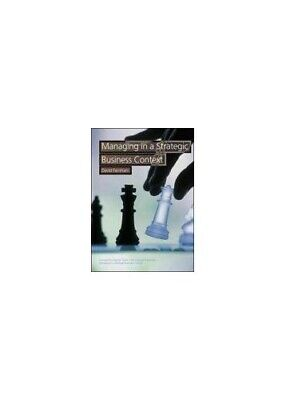Managing In A Strategic Business Context By David Farnham Paperback Book The • 5.49£