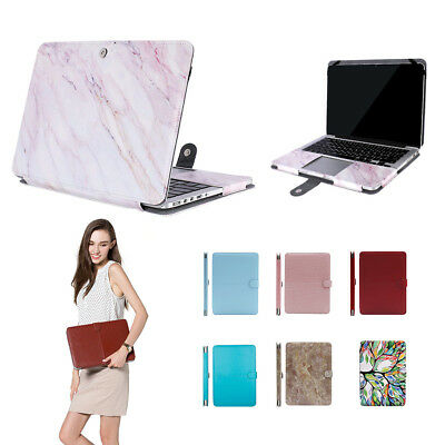 $17.09 • Buy Laptop Sleeve Bag Case For MacBook Pro Air 11 13 15 15.6 Retina Leather Case