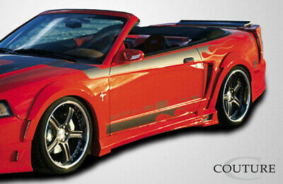 $ CDN372.54 • Buy Couture Urethane Demon Rear Fender Flares 2 Piece For Mustang Ford 99-04 Ed