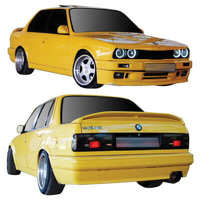E30 2dr 4dr M-tech Front Bumper Body Kit 2 Pc For BMW 3-Series 88-91 D