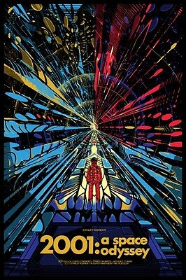 £5.13 • Buy 2001: A Space Odyssey Stanley Kubrick 1968 Sci Fi Film Poster A3 Reprint