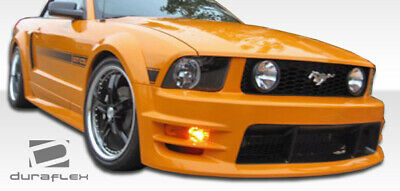 $340 • Buy Duraflex GT500 Wide Body Front Bumper Cover 1 Piece For Mustang Ford 05-09