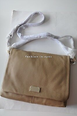 AU235 • Buy OROTON Meyer Hobo Leather Shoulder Crossbody Bag Plaster NEW SALE