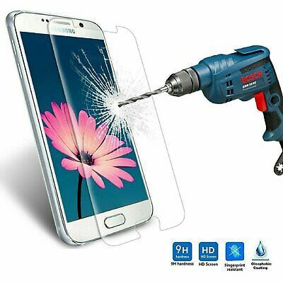 $ CDN3.77 • Buy Premium Tempered Glass Clear Screen Protector For Samsung Galaxy S6