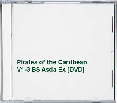 Pirates Of The Carribean V1-3 BS Asda Ex [DVD] - DVD  4SVG The Cheap Fast Free • 3.49£