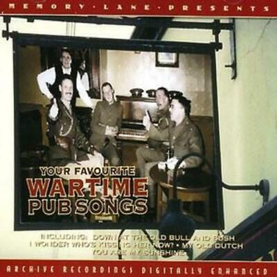 £2.49 • Buy Various Artists : Your Favourite Wartime Pub Songs CD (2008) Fast And FREE P & P