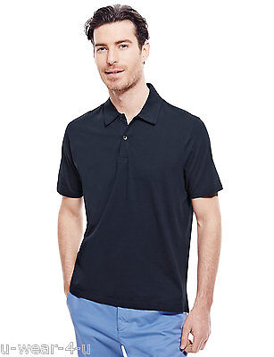 £4.99 • Buy Mens Ex Famous Stores Collection Pure Cotton Short Sleeve Polo Shirt M&s Marks