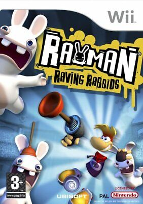 £6.26 • Buy Rayman: Raving Rabbids (Wii) - Game  IYVG The Cheap Fast Free Post